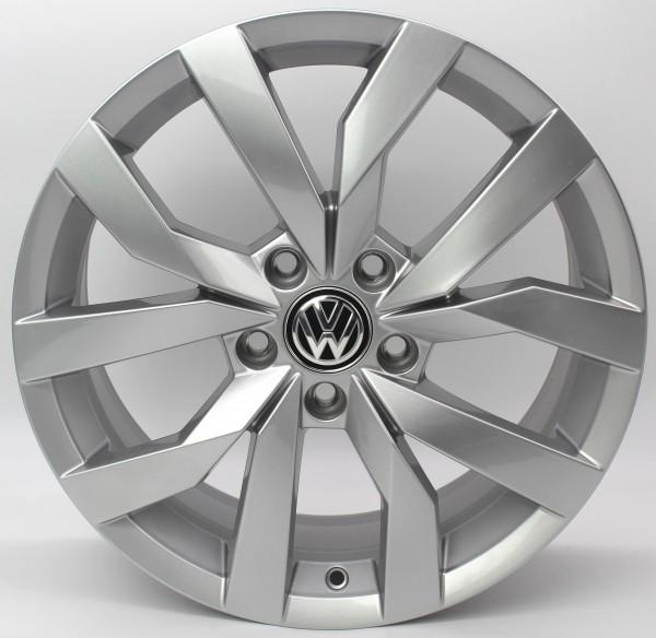 1x 17Zoll Original VW Golf 7 VII Karlskoga Alu-Felge 5G0601025CR