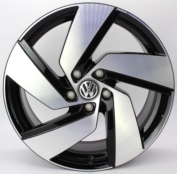 >TOP< 1x 18Zoll Original VW Golf 8 VIII GTI 5H Alu-Felge Alufelge 5H0601025H