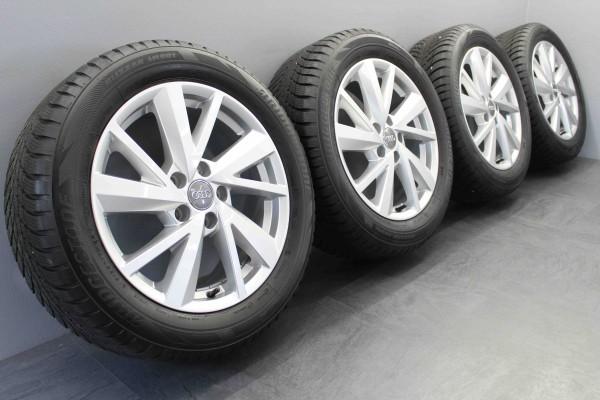 Original Audi sLine Q2 17Zoll Winterräder Winterreifen 81A601025C TOP