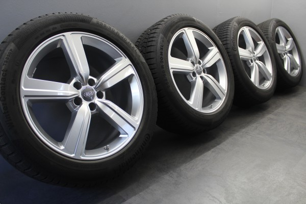 20Zoll Original Audi sLine E-TRON Winterräder 4KE601025S Felgen Winterreifen