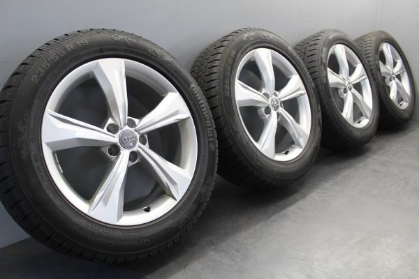 19Zoll Original Audi sLine Q5 FY Winterräder 235/55R19 Reifen 80A601025K