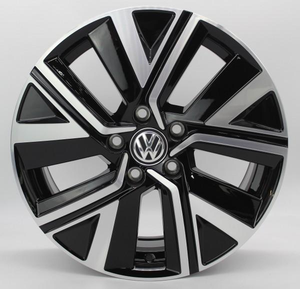 >TOP< 1x 17Zoll Original VW Touran 5T Bicolor Alu-Felge 5TA601025R