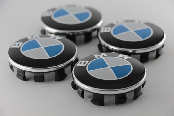 Radnabenabdeckungen BMW (klein), 4 Stück