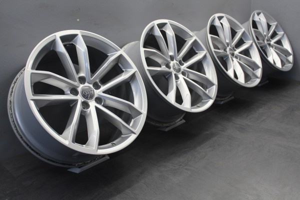 4x Original Audi sLine A5 S5 F5 Alu-Felgen 8,5x19Zoll ET32 8W0601025DG A4 B9 8W