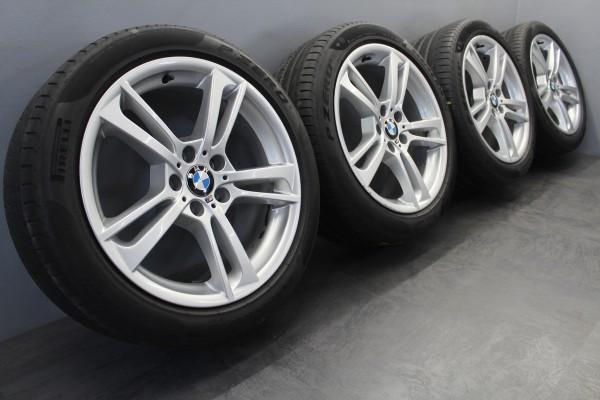 19 Zoll Original BMW 369M X3 F25 X4 F26 Sommerräder Pirelli 7844250 7844251
