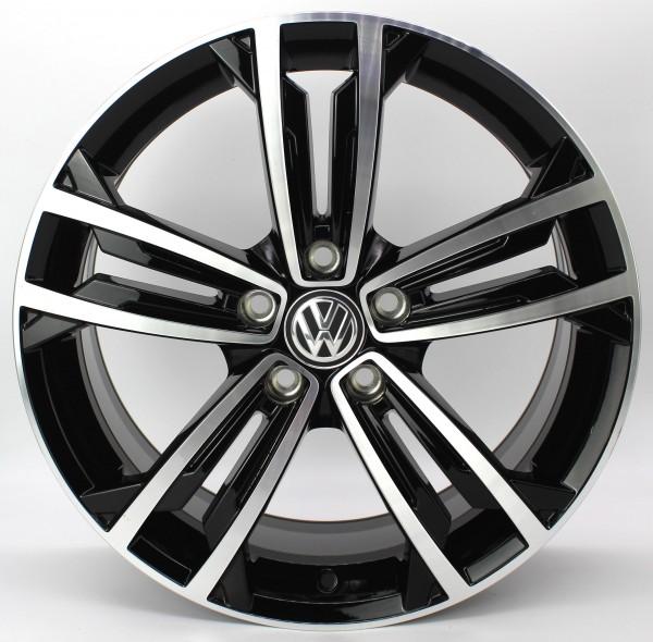 1x 18Zoll Original VW Golf 7 VII GTI GTD R-Line Sevilla Alufelge 5G0601025CM