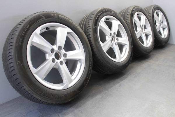 Original Audi sLine Q2 17Zoll Sommerräder Sommerreifen Michelin 81A601025B
