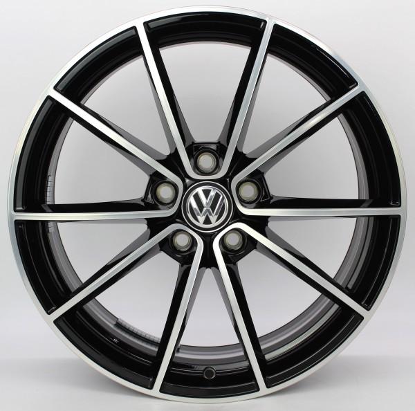 TOP 1x 18Zoll Original VW Golf 7 VII GTI GTD R Belvedere Alufelge 5G0601025CF