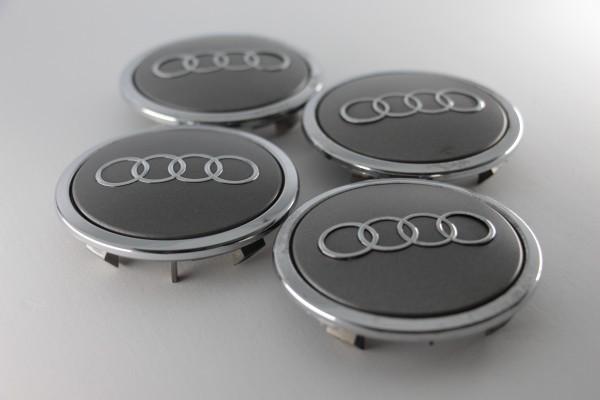Radnabenabdeckungen Audi, 4 Stück