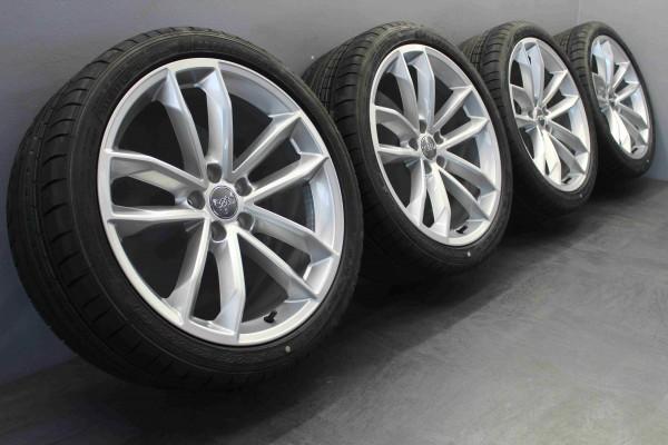 Original Audi A5 S5 F5 19 Zoll Sommerkompletträder 8W0601025DG Dunlop