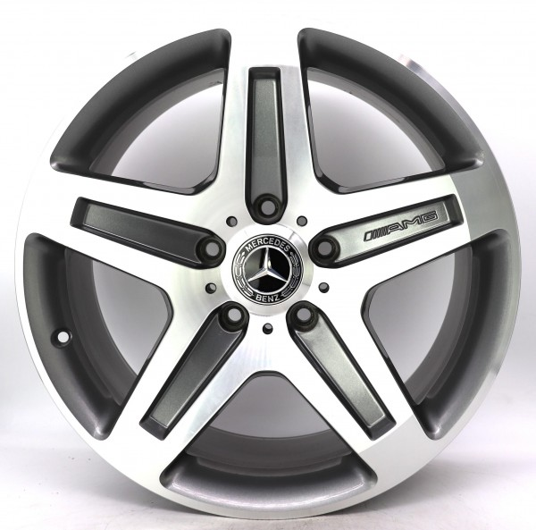 19Zoll Original Mercedes G-Klasse W463 AMG Alufelge A4634012102 9.5x19 ET50 3