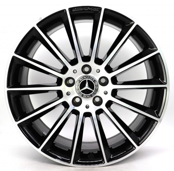 19Zoll Original Mercedes CLA C118 X118 AMG Alufelge A1184010300 8.5x19 ET55,2 D