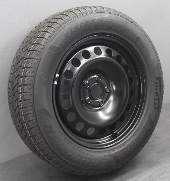 1x 17Zoll Original VW Tiguan II 2 5NA Winterräder Winterreifen 5QF601027A