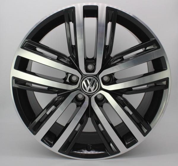 >TOP< 1x 19Zoll Original VW Tiguan II 2 5NA Auckland Alu-Felge 5NA601025F