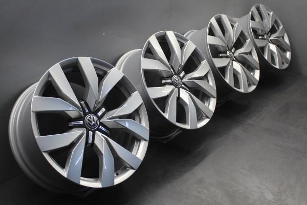 >NEU< 4x 20Zoll Original VW Touareg Montero Alu-Felgen 760601025C 9x20 ET33