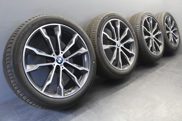 20Zoll Original BMW 699M X3 G01 X4 G02 Sommerräder Reifen Alu-Felgen 8010268