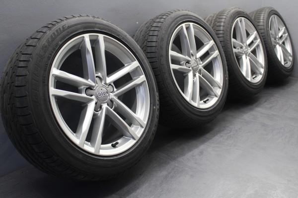 Original Audi sLine TT 8S 17Zoll Sommerräder 8S0601025A Bridgestone 245/45 R17