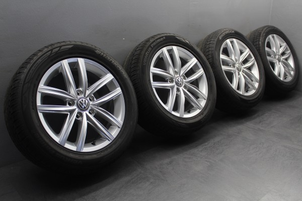 TOP 4x 16Zoll Original VW Golf 7 VII Hita Sommerräder 5G0601025CS