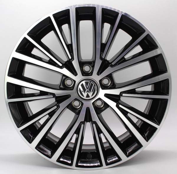 1x 17Zoll Original VW Touran 5T Vallelunga Alu-Felge 5TA601025E