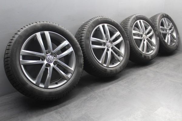 >TOP< 4x 17Zoll Original VW Touran 5T Salvador Winterräder Alu-Felgen 5TA601025G