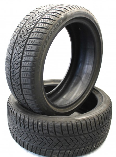 TOP 2x Winterreifen Pirelli Sottozero 3 255/40R20 101W XL AO DOT19 6,6mm