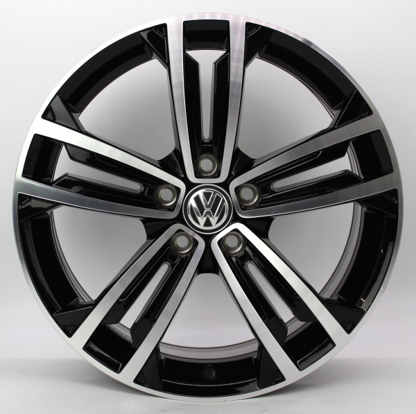 TOP 1x 18Zoll Original VW Golf 7 VII GTD GTI R-Line Sevilla Alufelge 5G0601025CM