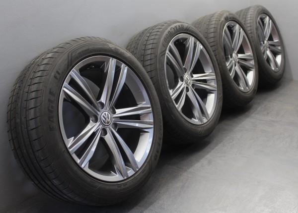 TOP 4x 18Zoll Original VW Arteon Sebring grey Sommerräder 245/45R18 3G8601025N