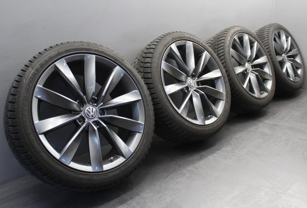 4x 19Zoll Original VW Arteon Passat 3G B8 Chennai grau Winterräder 3G8601025G