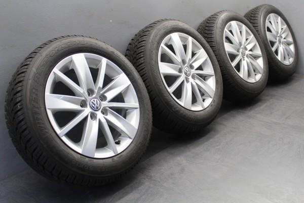 >TOP< 4x 15Zoll Original VW Polo 6C Tosa Winterräder Winterreifen 6C0601025