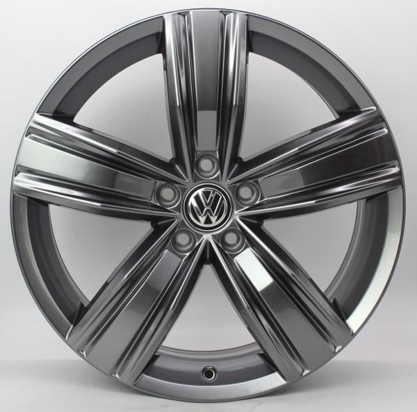 TOP 1x 19Zoll Original VW Tiguan II 2 Victoria Falls Alu-Felge 5NA601025Q