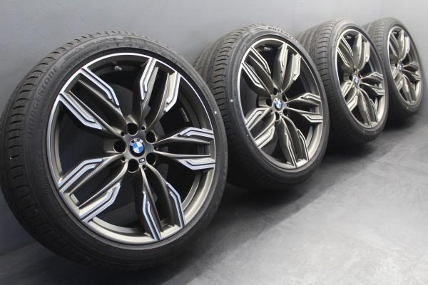 20Zoll Original BMW 6er G32 7er G11 G12 M760 Sommerräder Alu-Felgen 8047257 760M