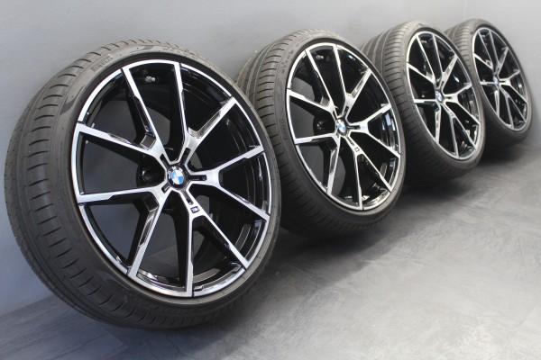 20 Zoll Original BMW 8er G14 G15 5er G30 G31 728M Schwarz Sommerräder 8072023