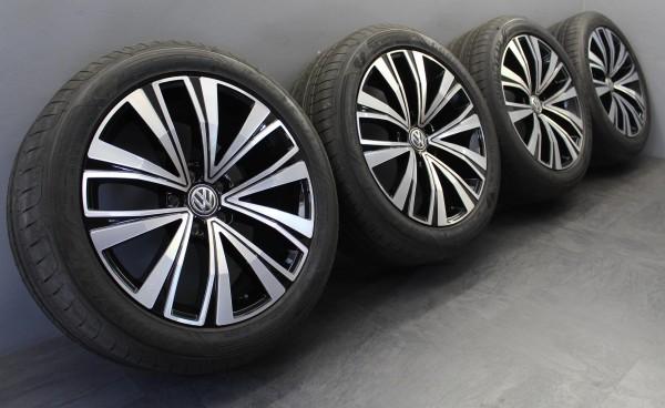 NEU 4x 18Zoll Original VW Arteon Muscat black Sommerräder 3G8601025F