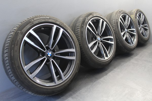 19Zoll Original BMW 6er G32 7er G11 G12 M647 Grey Sommerräder DOT18 647M
