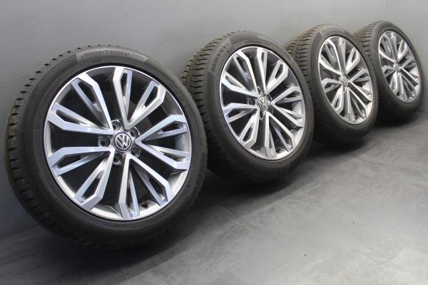 >TOP< 4x 18Zoll Original VW T-Roc Montego Bay Winterräder Alu-Felgen 2GA601025E