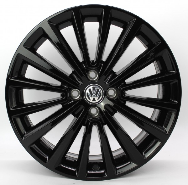 TOP 1x 17Zoll Original VW Up Polygon black Alufelge 1S0601025BT 6,5x17 ET43