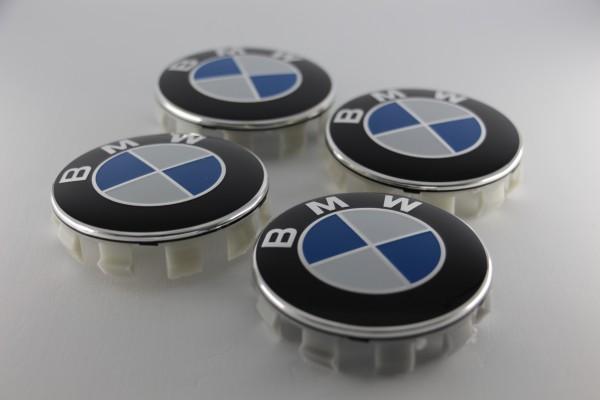 Radnabenabdeckungen BMW (groß), 4 Stück
