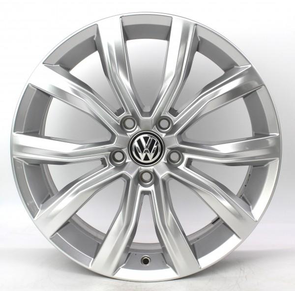 TOP 1x 18Zoll Original VW T-Roc Grange Hill silber Alufelge 2GA601025D