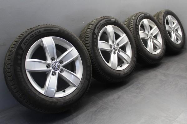 >TOP< 4x 16Zoll Original VW T-Roc Corvara Winterräder 2GA601025Q 2GA071496A