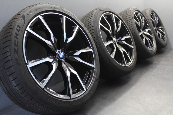 22Zoll Original BMW X7 G07 M755 Black Sommerräder Sommerreifen Felgen 8074221