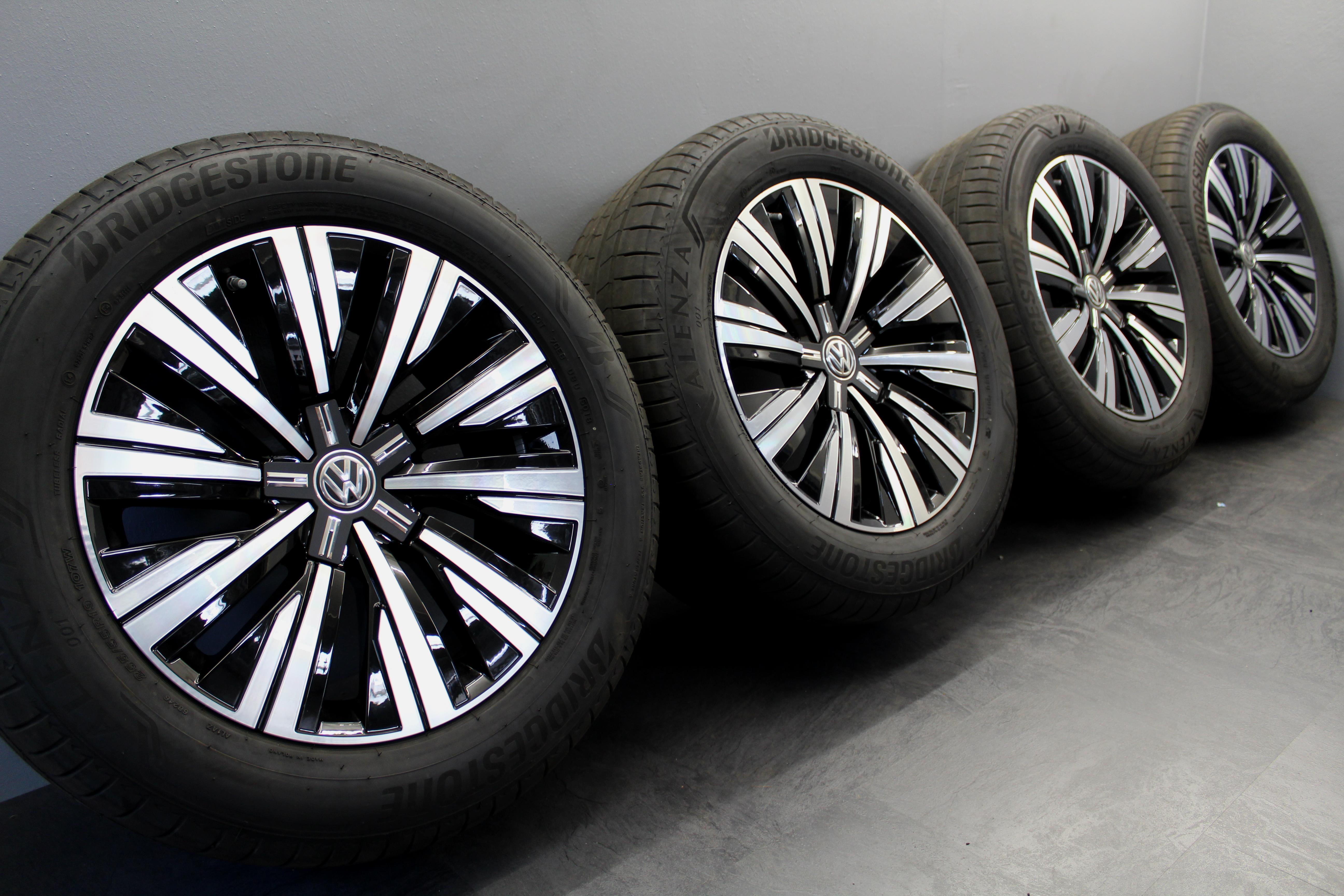 Einstiegsleiste Schutz Carbon Für VW Touareg III  CR SparSet Ladekantenschutz