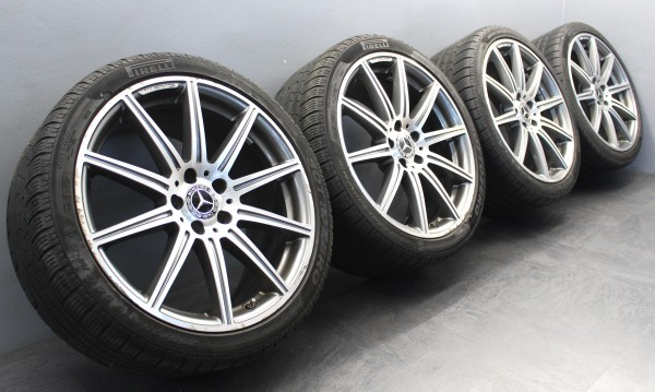 19Zoll Original Mercedes-Benz E63 AMG W212 S212 Winterräder A2124015002 CLS63 C218 C219