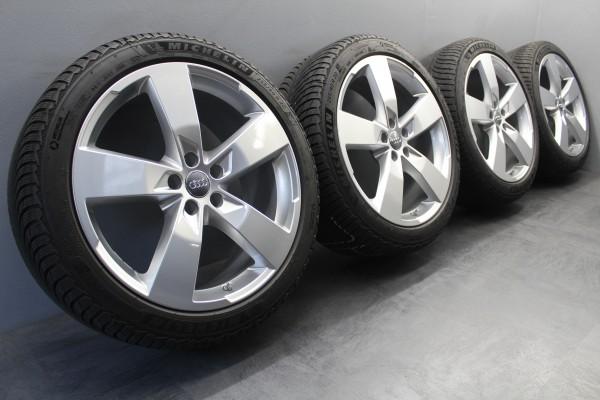 4x Original Audi A6 S6 4K C8 20Zoll Winterräder Michelin 4K0601025K