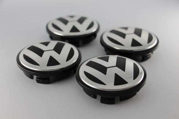 Radnabenabdeckungen VW, 4 Stück