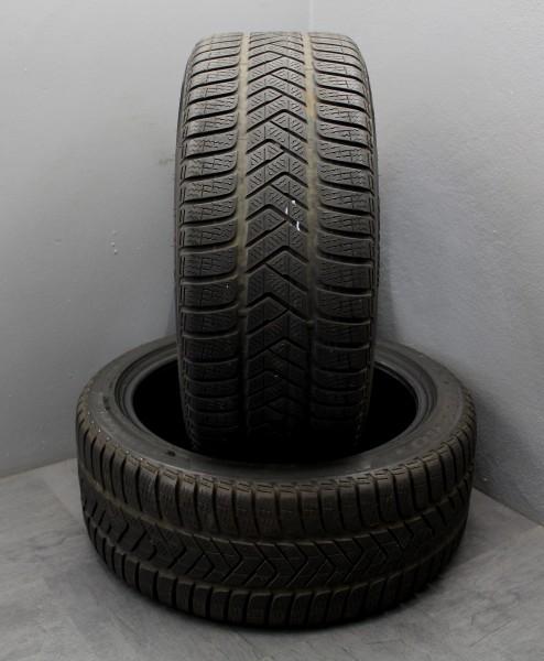 2x Winterreifen 245/40R18 97V XL AO Pirelli Sottozero 3 DOT 3618 6,5mm