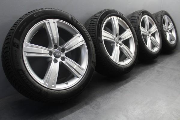 4x Original Audi A8 4N 8x19Zoll ET32 Winterräder Michelin 235/50R19 4N0601025J