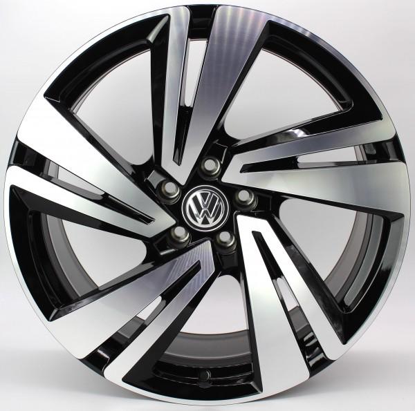 >TOP< 1x 20Zoll Original VW Touareg III CR Nevada Bicolor Alu-Felge 760601025AA