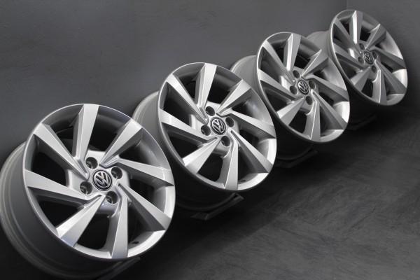 4x 15Zoll Original VW Up Seat Mii Skoda Citigo Alufelgen 6x15 ET38 5U0601025AJ