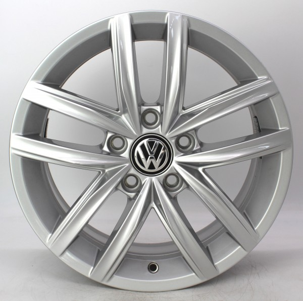 TOP 1x 16Zoll Original VW Golf 7 VII Hita Alufelge 5G0601025CS 6.5x16 ET46