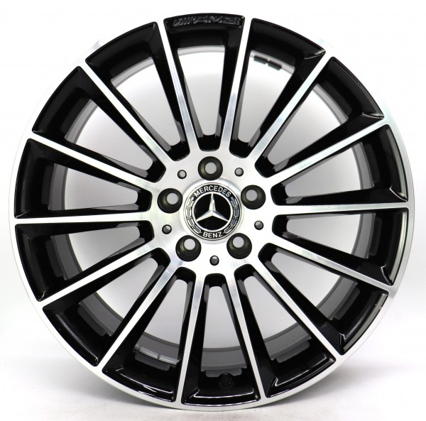 19Zoll Original Mercedes CLA C118 X118 AMG Alufelge A1184010300 8.5x19 ET55,2 C
